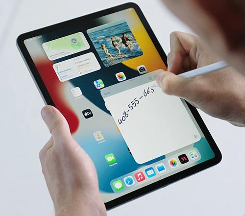 الإعلان عن تحديث iPadOS 15 لأجهزة الايباد الملاحظات