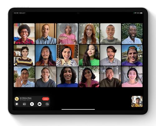 أبرز مزايا فيس تايم الجديدة على iPadOS 15