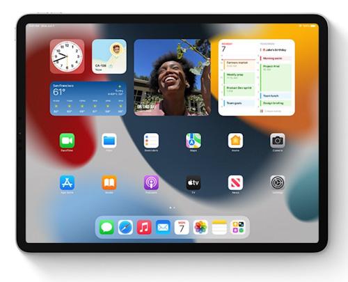 مميزات تحديث iPadOS 15 - الويدجت