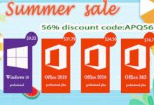 مفاتيح تفعيل ويندوز 10 و أوفيس 2016 و 2019 متوفرة الآن بأقل سعر على الإطلاق!