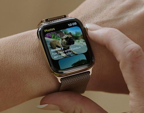 نظام تشغيل ساعة ابل watchOS 8