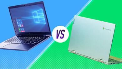 أيهما أفضل لاستخداماتك : لاب توب بنظام ويندوز أم Chromebook