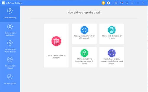 مراجعة iMyFone D-Back أداة نموذجية لاستعادة ملفاتك المحذوفة من هاتفك الآيفون