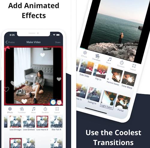 تطبيق Fliptastic Pro تحويل الصور إلى فيديو