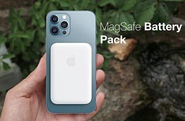 بطارية ماجسيف MagSafe الجديدة لهواتف ايفون 12