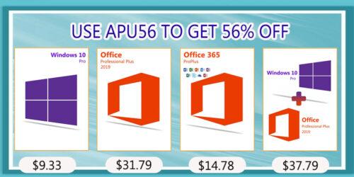 احصل على ويندوز 10 برو مع حزمة الأوفيس بأرخص سعر ممكن!