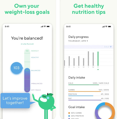 تطبيق Lifesum - يساعدك في بناء نظام غذائي سليم