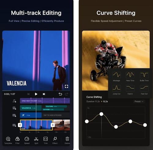 تطبيق VN - أفضل محرر فيديو