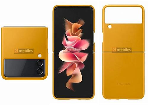 سامسونج تنتج مجموعة من التصميمات الرسمية لحافظة هاتف جالكسي Z Flip 3