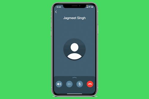 تحديث واتس اب - هذا هو شكل واجهة المكالمات الجديدة على الايفون!