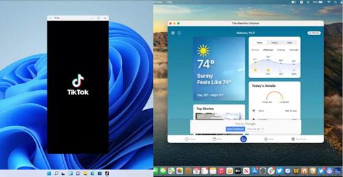 تشغيل تطبيقات الأندرويد ويندوز 11