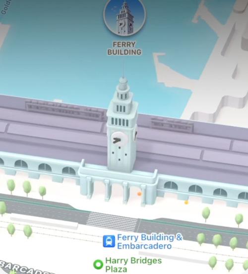 اكتشف المدن بطريقة أفضل تطبيق خرائط ابل Apple Maps في تحديث iOS