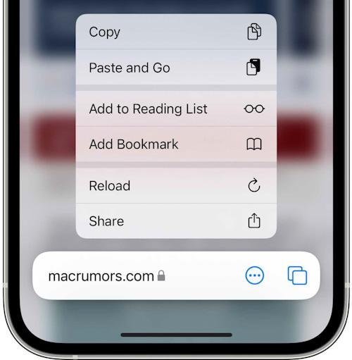 النسخة التجريبية الثالثة من تحديث iOS 15 و iPadOS 15 إعادة تحميل صفحة سفاري