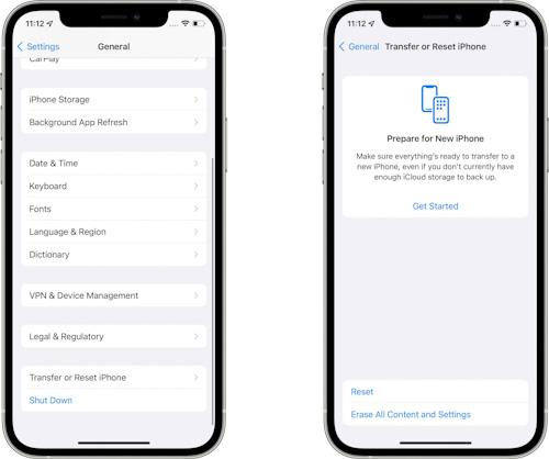 النسخة التجريبية الثالثة من تحديث iOS 15 و iPadOS 15 إعادة ضبط الايفون