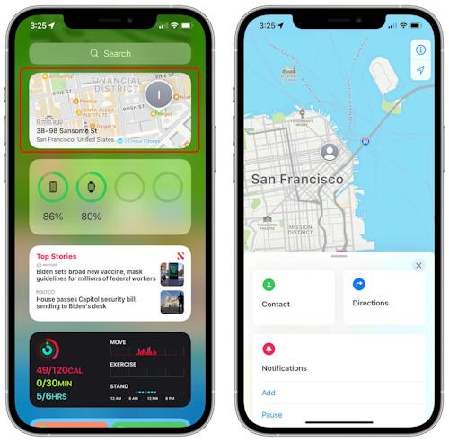 تحديث iOS 15 - ما الجديد في خدمة تحديد الموقع Find My ؟