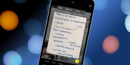 تحديث iOS 15 - كيفية نسخ النصوص من الصور بسهولة؟