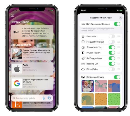 تحديث iOS 15 - المزايا الجديدة في متصفح سفاري!