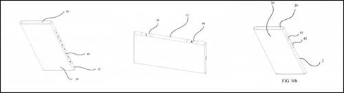 هواوي تسجل براءة اختراع جديدة لشاشة عرض منحنية على الجانبين تضيف فائدة عملية