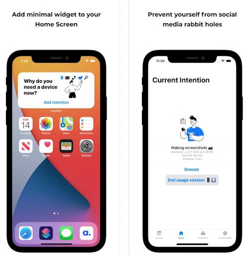 تطبيق ActuFlow - استخدم هاتفك بوعي!