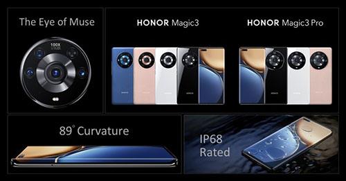 بعد استقلالها عن هواوي - هونر تطلق سلسلة هواتفها الرائدة Honor Magic 3