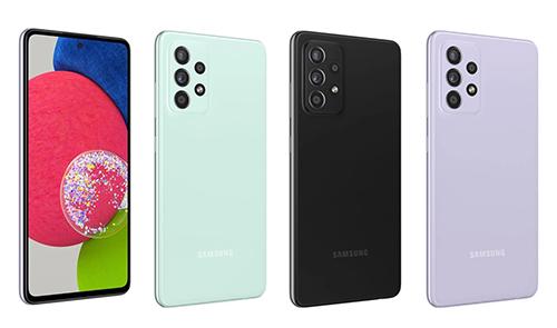 هاتف سامسونج جالكسي A52s قادم بمعالج أقوى وخيار جديد باللون النعناعي