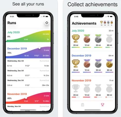 تطبيق RunnerGoal - يشجعك على رياضة الجري