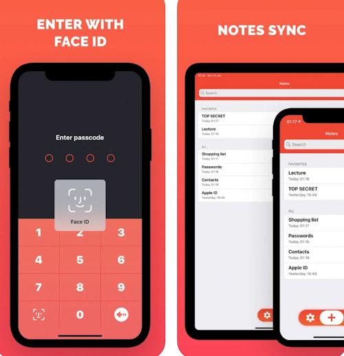تطبيق Secret Notes - احتفظ بالمذكرات بسرية