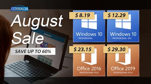 مفاتيح تفعيل ويندوز 10 و أوفيس 2019 و 2016 الأصلية متاحة الآن بأرخص الأسعار!