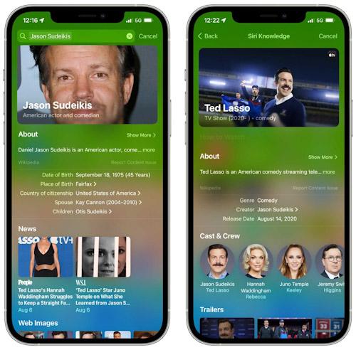 تحديث iOS 15 - ما الجديد في ميزة البحث Spotlight ؟ نتائج البحث