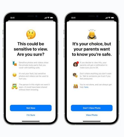 تحديث iOS 15 - كيف سيقوم بحماية الأطفال؟
