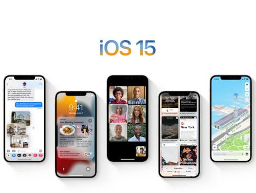 التطبيقات الرسمية في تحديث iOS 15 و iPadOS 15