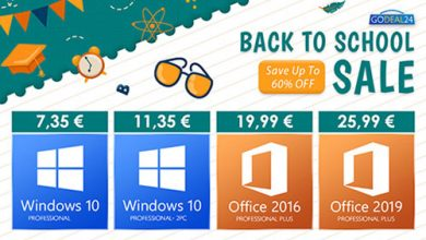 مفاتيح تفعيل ويندوز 10 و أوفيس 2019 الأصلية وأشهر برامج ويندوز متاحة الآن بأرخص الأسعار!