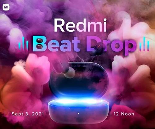 ريدمي تتجهز لحدث إطلاق قادم في 3 سبتمبر للإعلان عن سماعة Earbuds جديدة