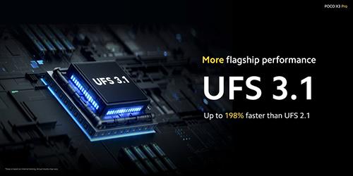 ذاكرة تخزين من نوع UFS 3.1