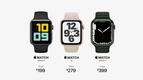 يبدأ سعر ساعة الجيل السابع من ساعة ابل Apple Watch Series 7 من 400 دولار أمريكي.