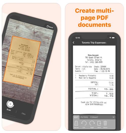 تطبيق Genius Scan المسح الضوئي للأوراق والمستندات