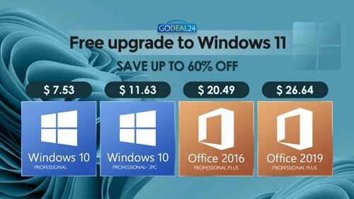 احصل على ويندوز 10 الأصلي بأرخص الأسعار واستعد للترقية المجانية إلى ويندوز 11