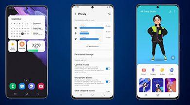 سامسونج تعتزم إطلاق إصدار تجريبي من اندرويد 12 لهواتف جالكسي S21 خلال وقت قريب