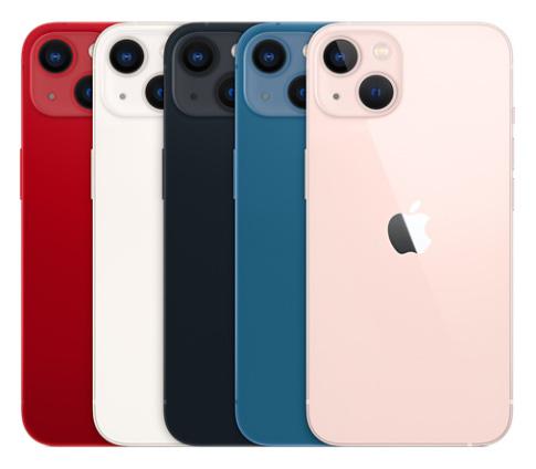 تصميم و ألوان ايفون 13