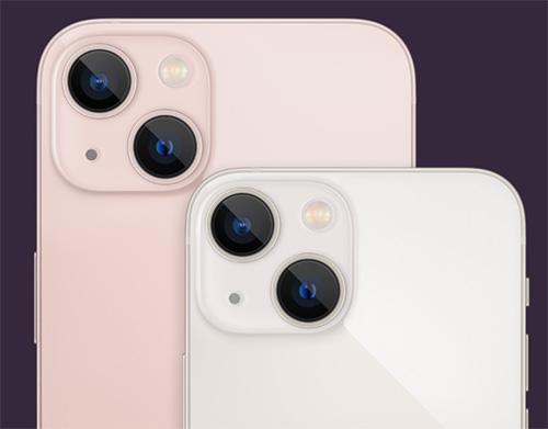 كاميرا ايفون 13 ميني