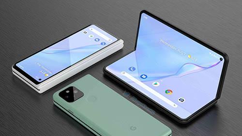 تسريبات Android 12.1 - جوجل تعمل على هاتف بيكسل جديد قابلي للطي