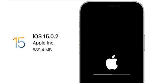 إطلاق تحديث iOS 15.0.2 لإصلاح عدة مشاكل في الايفون!